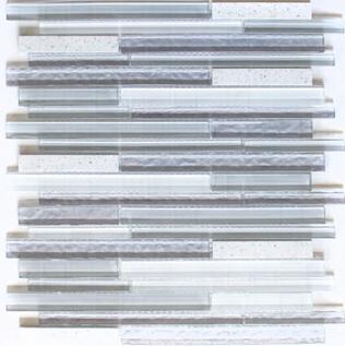 Riemchenmosaik / Stabmosaik weiss