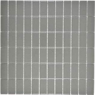2x5cm metallgrau Mosaik