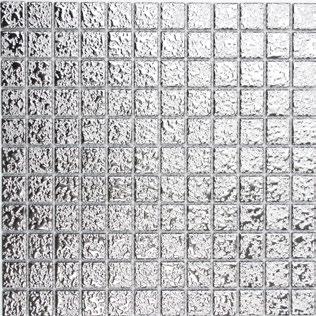 Silber Mosaik 25mm