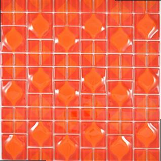 Kristallmosaik rot