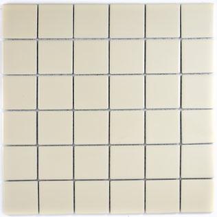 5x5 cm Mosaic beige