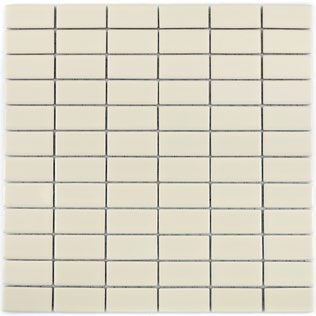 2x5cm beige Mosaik