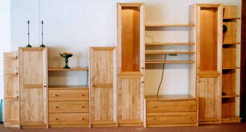einzelanfertigungen massivholzm bel meister hausser. Black Bedroom Furniture Sets. Home Design Ideas