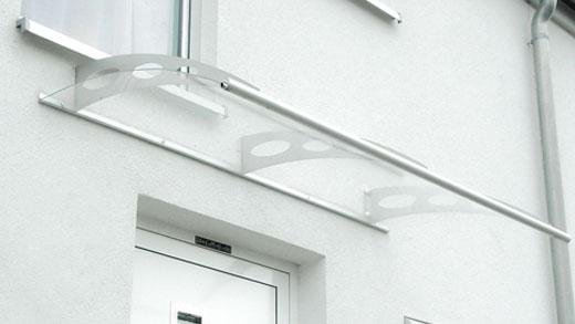 Gut gemocht Vordächer mit Acrylglas - frewa-trebas Webseite! TQ31