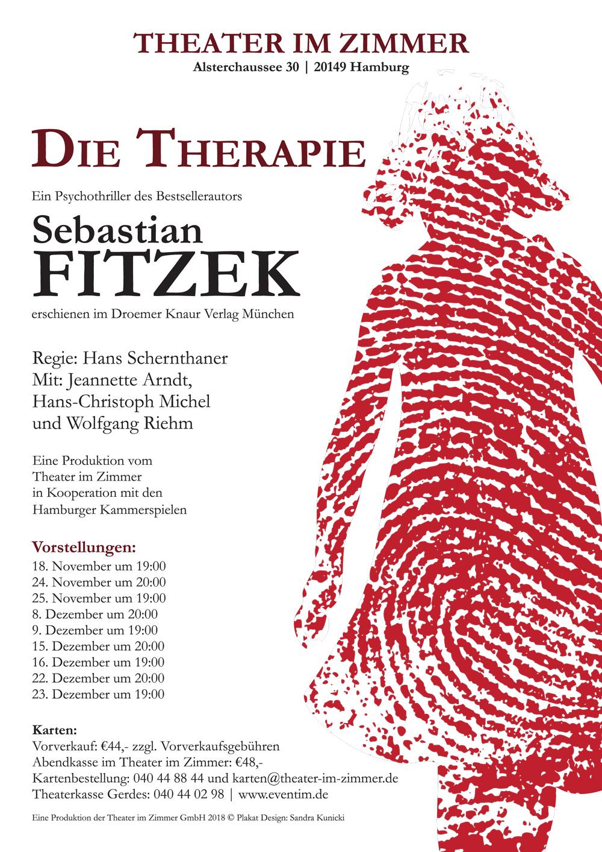 "Sebastian Fitzek ""Die Therapie"" im Theater im Zimmer Hamburg"