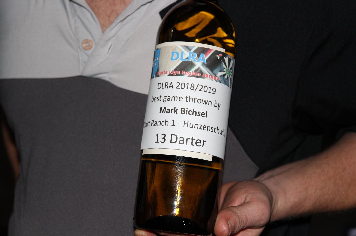 best games - 13 Dater von Mark Bichsel ( Dart Ranch 1 - Hunzenschwil)