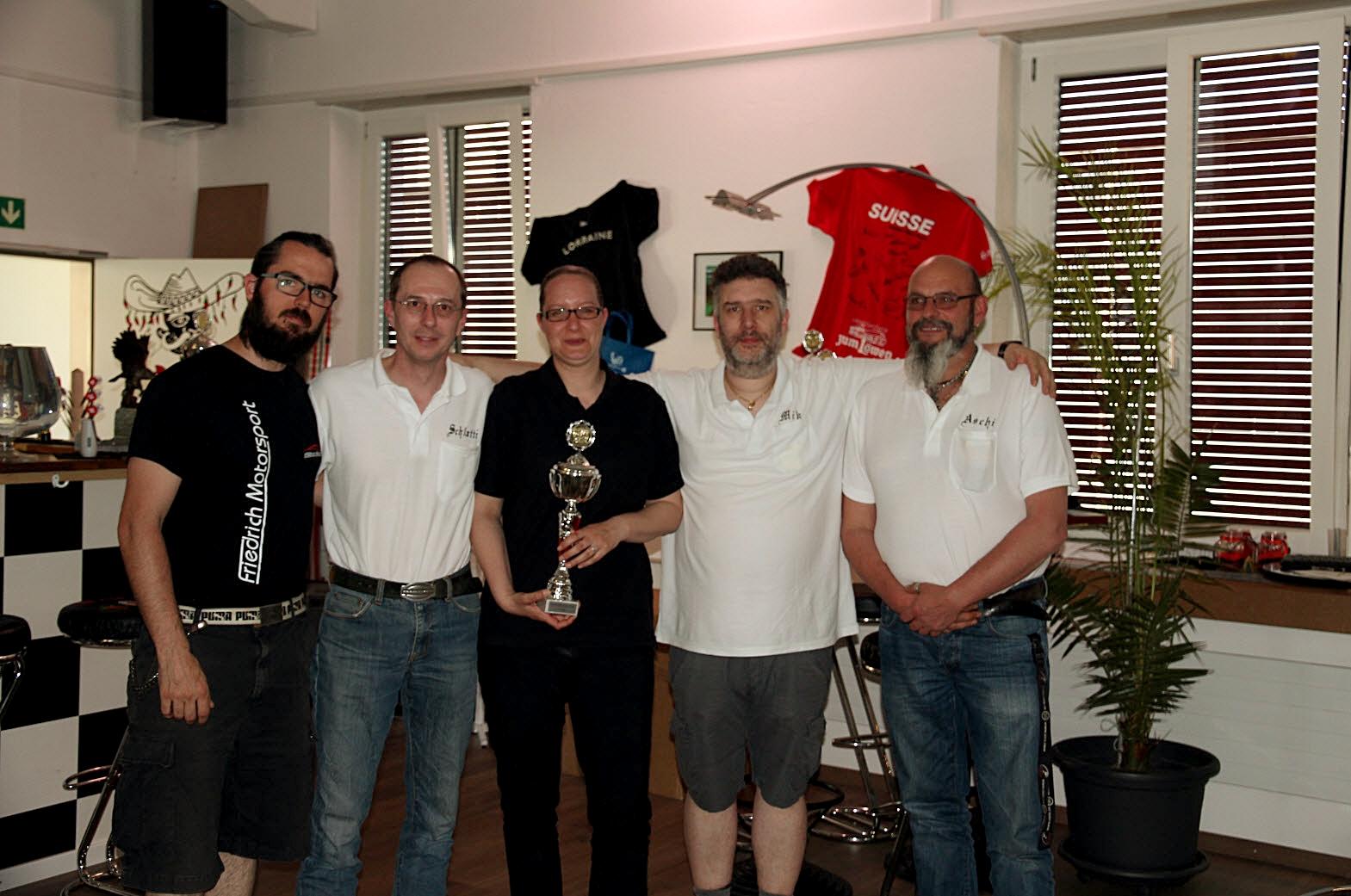 DLRA Meisterschaft 2017/18 - 3. Rang - DC Menziken 1