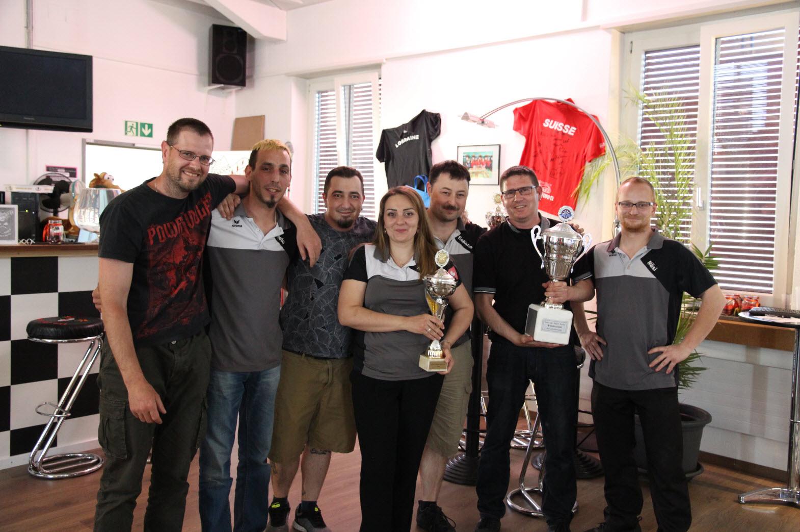 DLRA Meisterschaft 2017/18 - 1. Rang - Steeli con Carne