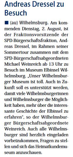 Neuer Ruf Wilhelmsburg 30.07.2016  Seite 1