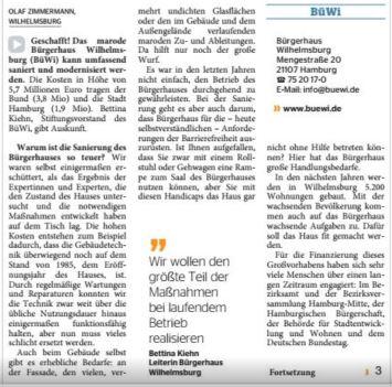 Elbe Wochenblatt vom 15.03.2017, Seite 1