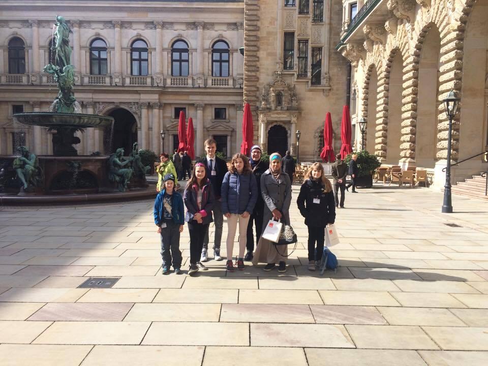 Tour durchs Rathaus