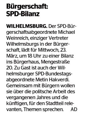 Wochenblatt Wilhelmsburg 16.03.16