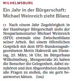 Hamburger Abendblatt 22.03.16