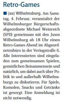 Neuer Ruf Wilhelmsburg vom 28.01.2017, Seite 1