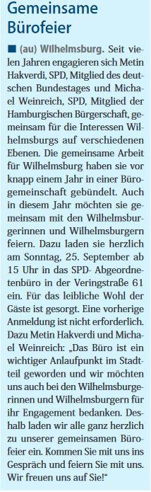 Neuer Ruf Wilhelmsburg 17.09.2016