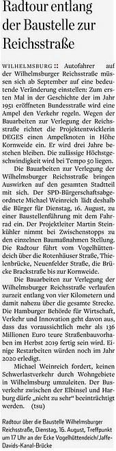 Hamburger Abendblatt 09.08.2016