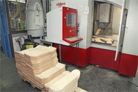 Sno22 - Skate Decks in der Produktion