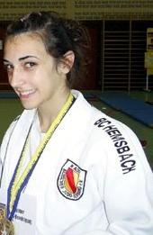 Sportlerin unserer überregionalen Talentgruppe:Irina Mora Hernandez