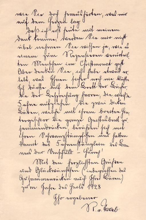 Die Handschrift Rudolf von Tavels