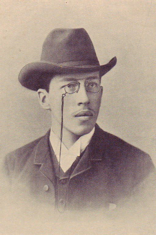 Rudolf von Tavel als Student (BB)