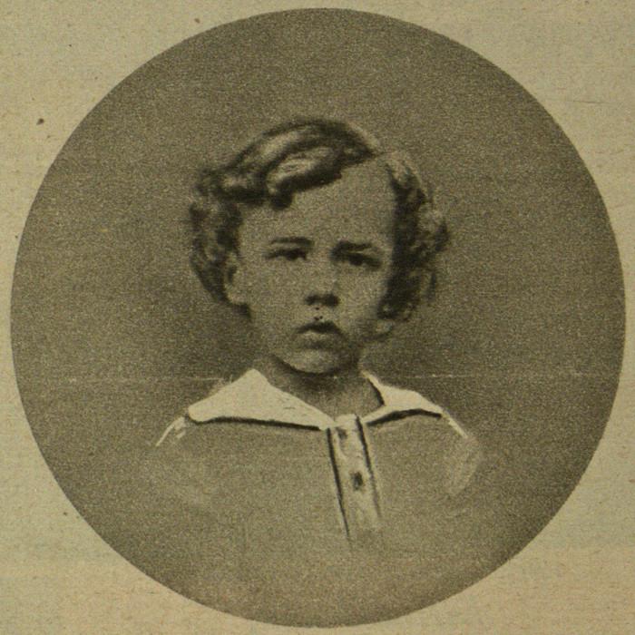 Rudolf von Tavel im Alter von 4 Jahren (BB)