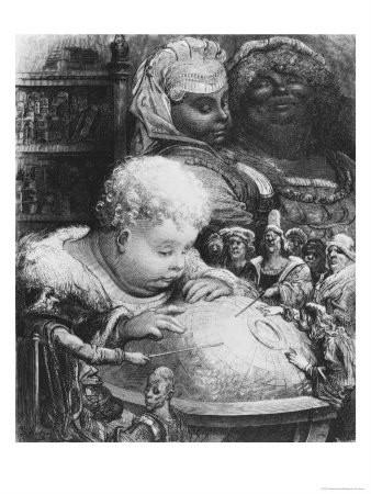Gustave Doré, Gargantua, 1873.