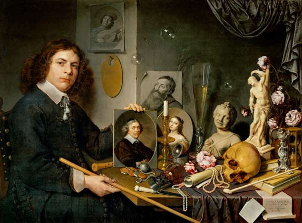 David Bailly, Vanitas, 1620.