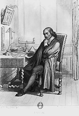 Flandrin, Portrait de Pascal, 1844.