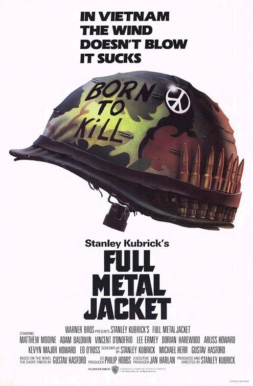Stanley kubrick, Full Metal jacket, 1987.