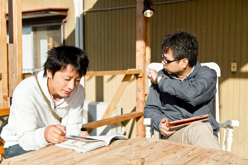 井上さんと高橋治希さん。