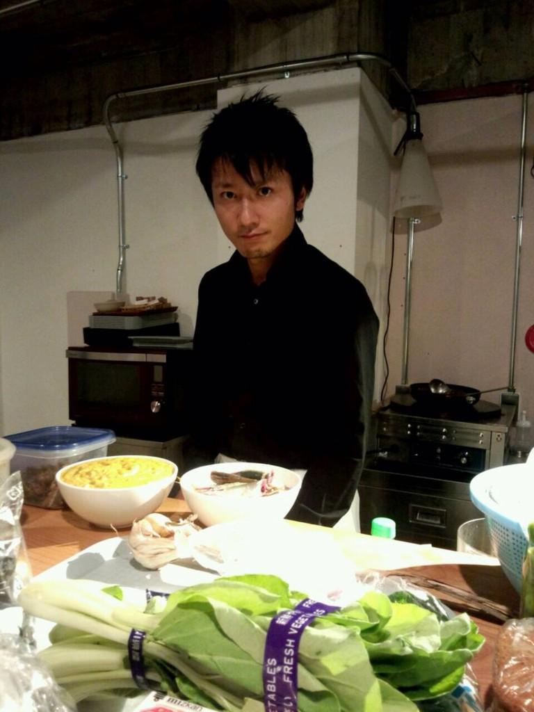井上シェフ!!!豆腐サラダいただきましたよ!