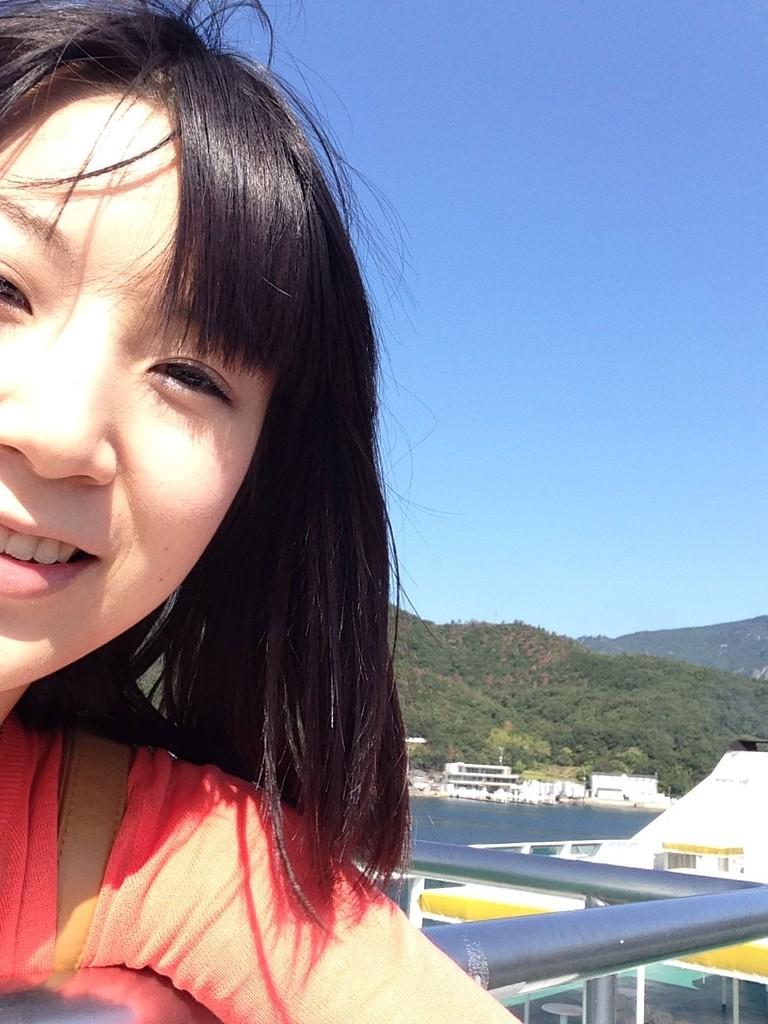 草壁港から高松港へ!風が気持ちいい~