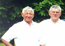 Werner Meinzer und Albert Köhler, v.l.n.r.