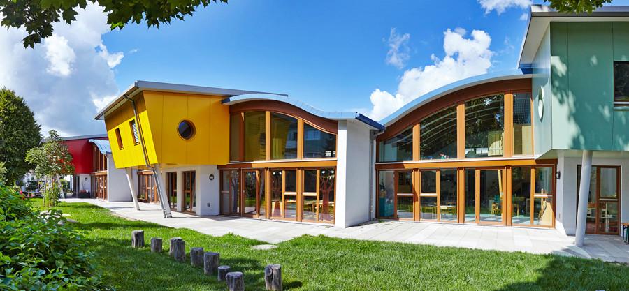 Kindergarten-Neubau Rheinpiraten für die Gemeinde Eggenstein-Leopoldshafen