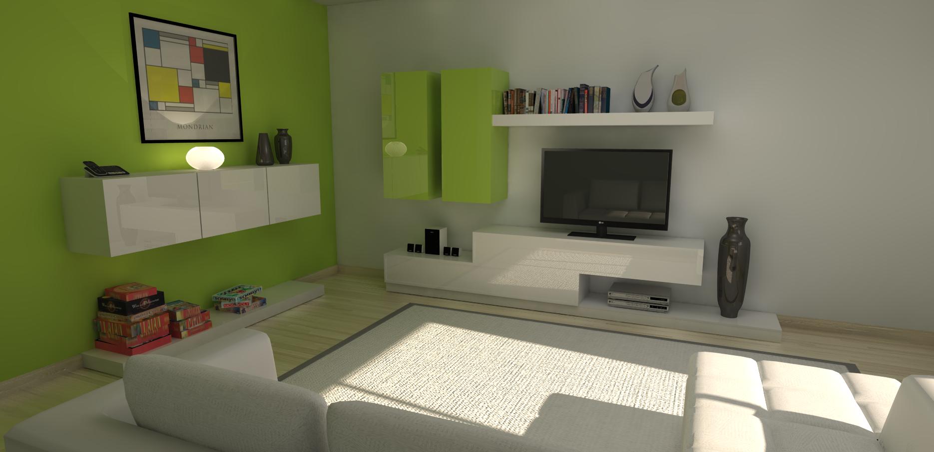 Mueble de estudio 01