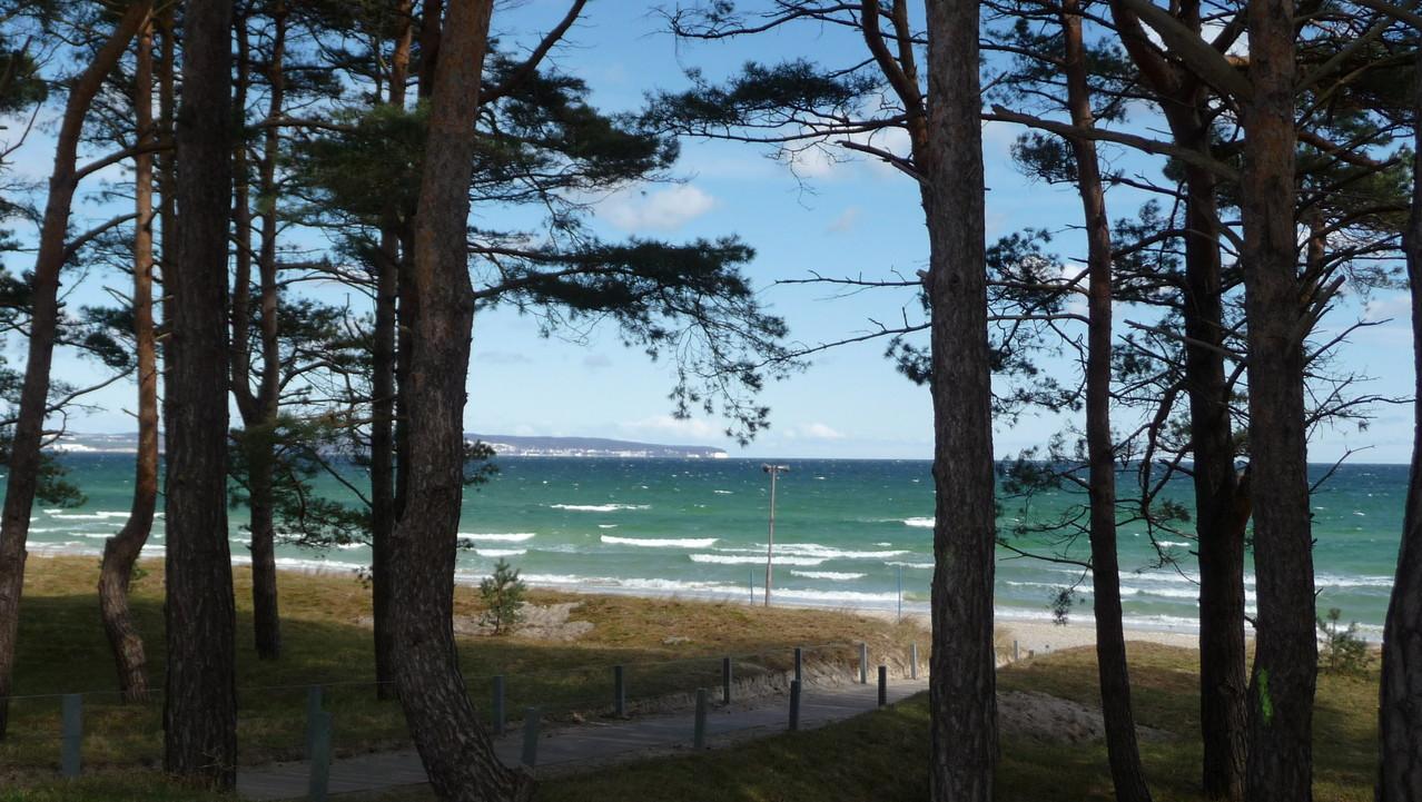 Die Wohnung ist nur 150 mtr. vom Strand entfernt.