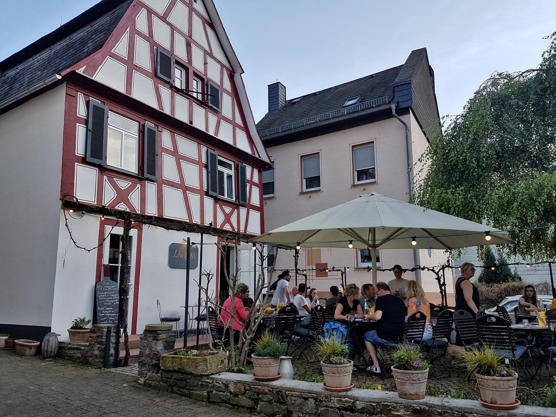 Das Restaurant in Lorch
