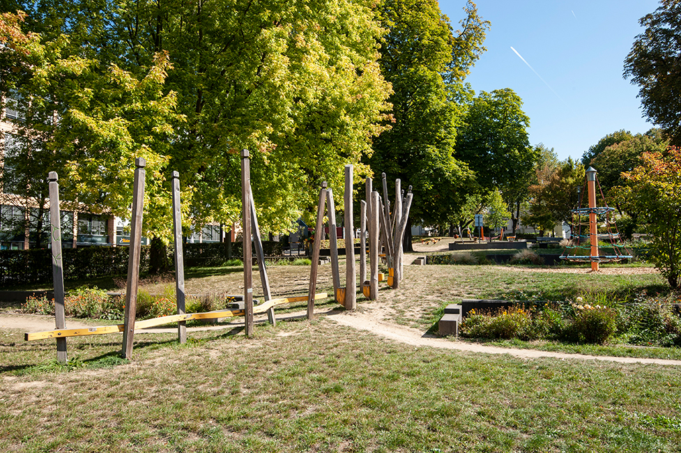Wiesbaden Südost Langenbeckplatz / Foto: Ullrich Knapp