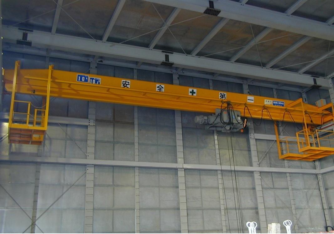 福岡市 オーバーヘッド形天井クレーン 10t × S15400