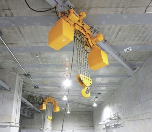 テルハクレーン 15ton 楊程25m (電動チェーンブロック ショートヘッド形 標準)
