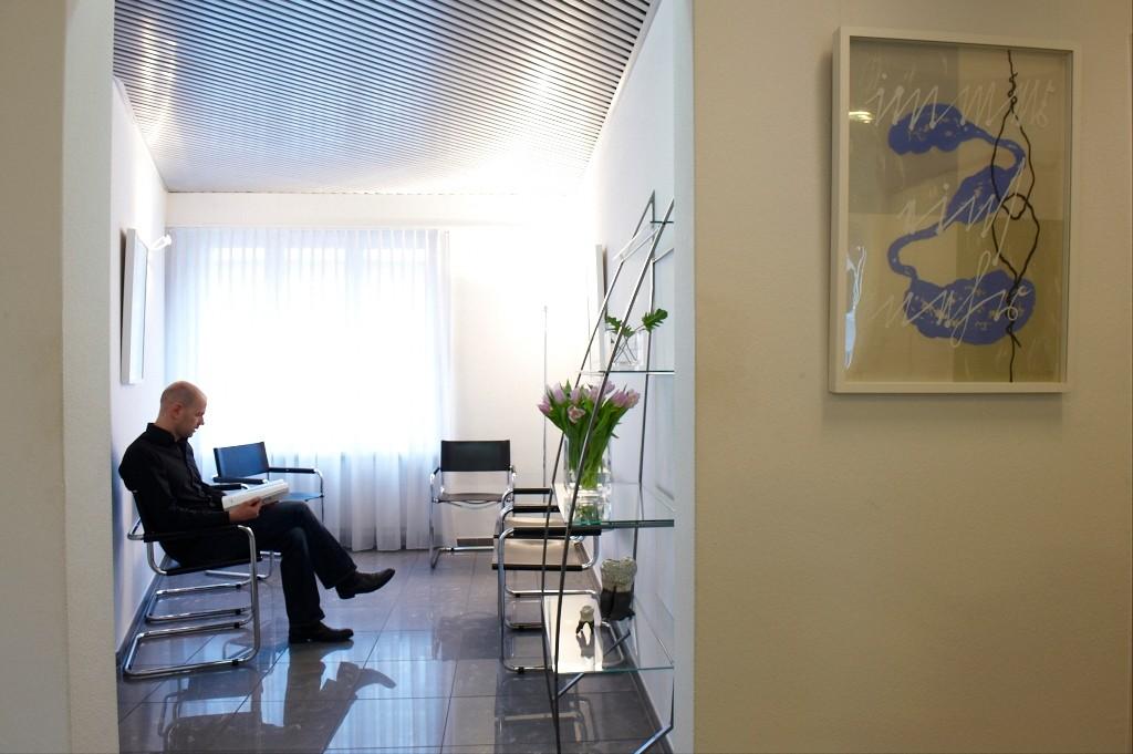 Praxis Villiger: Wartezimmer