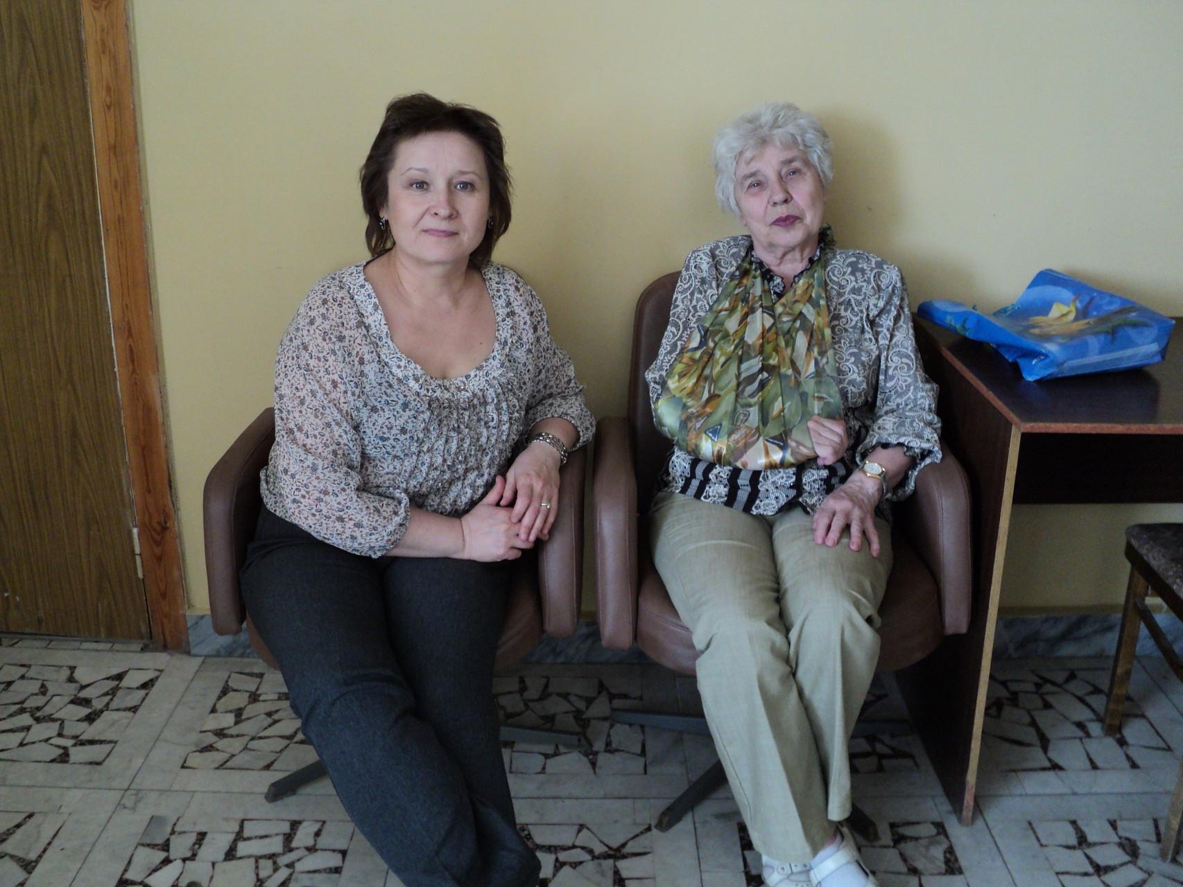 Н.Н. Рыбакова и А.Г. Брыткова 10.05.2012