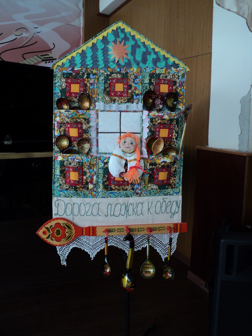 Выставка декоративно - прикладного творчества учащихся СОШ №35, преподаватель Ташбулатова Ольга Александровна