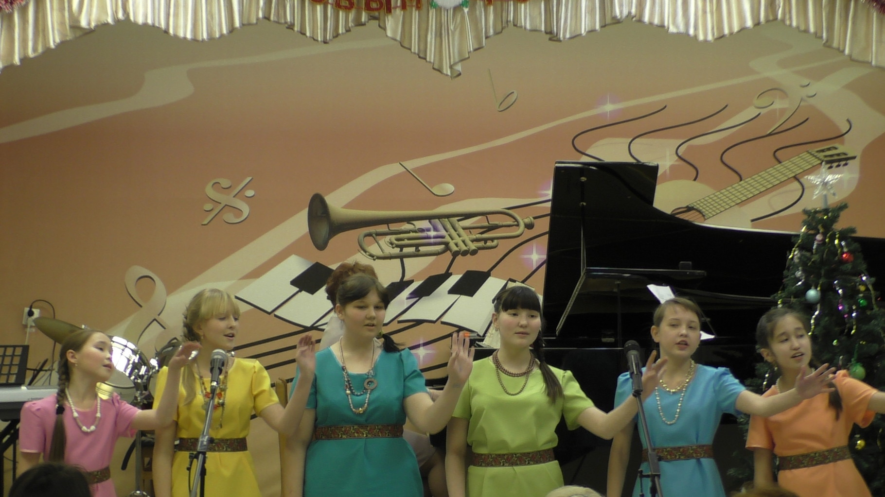 """Вокальный ансамбль """"Яшьлек"""", руководитель Гайсина А.А."""