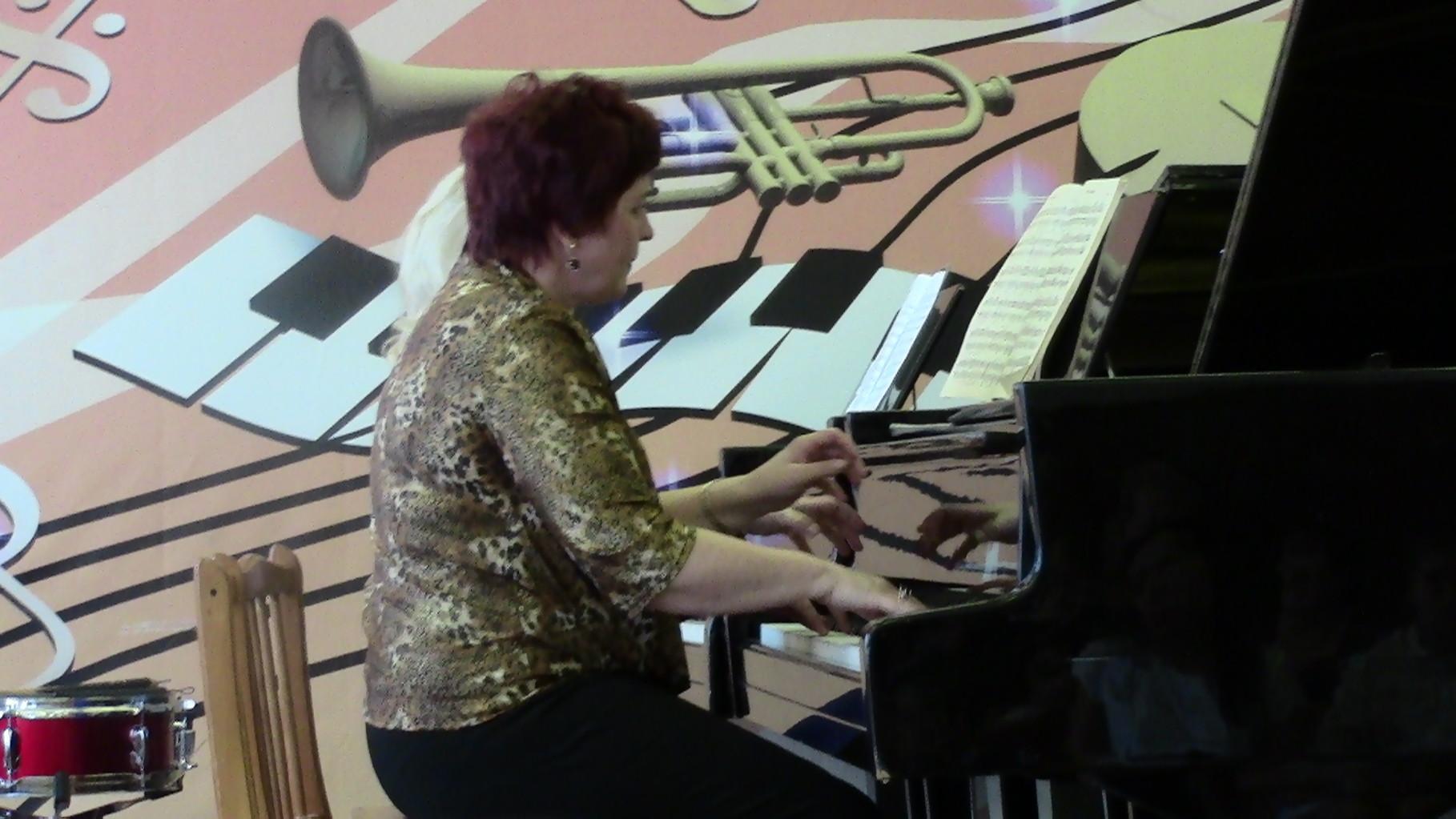 Фортепианный дуэт: Громова Э.И. и Чакрян И.В.