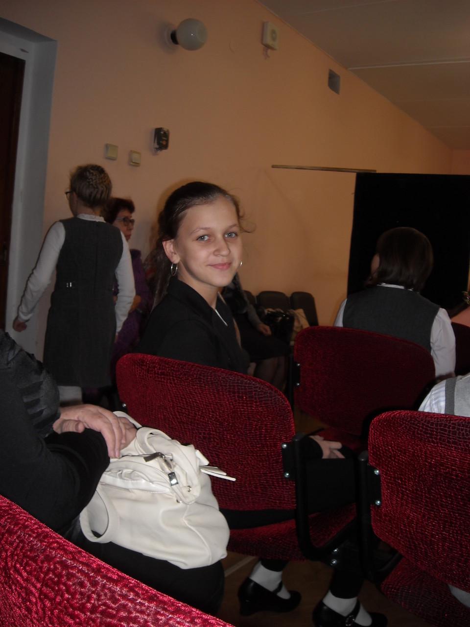 Обладательница Гран При Малёва Екатерина V класс, преподаватель Чакрян И.В.