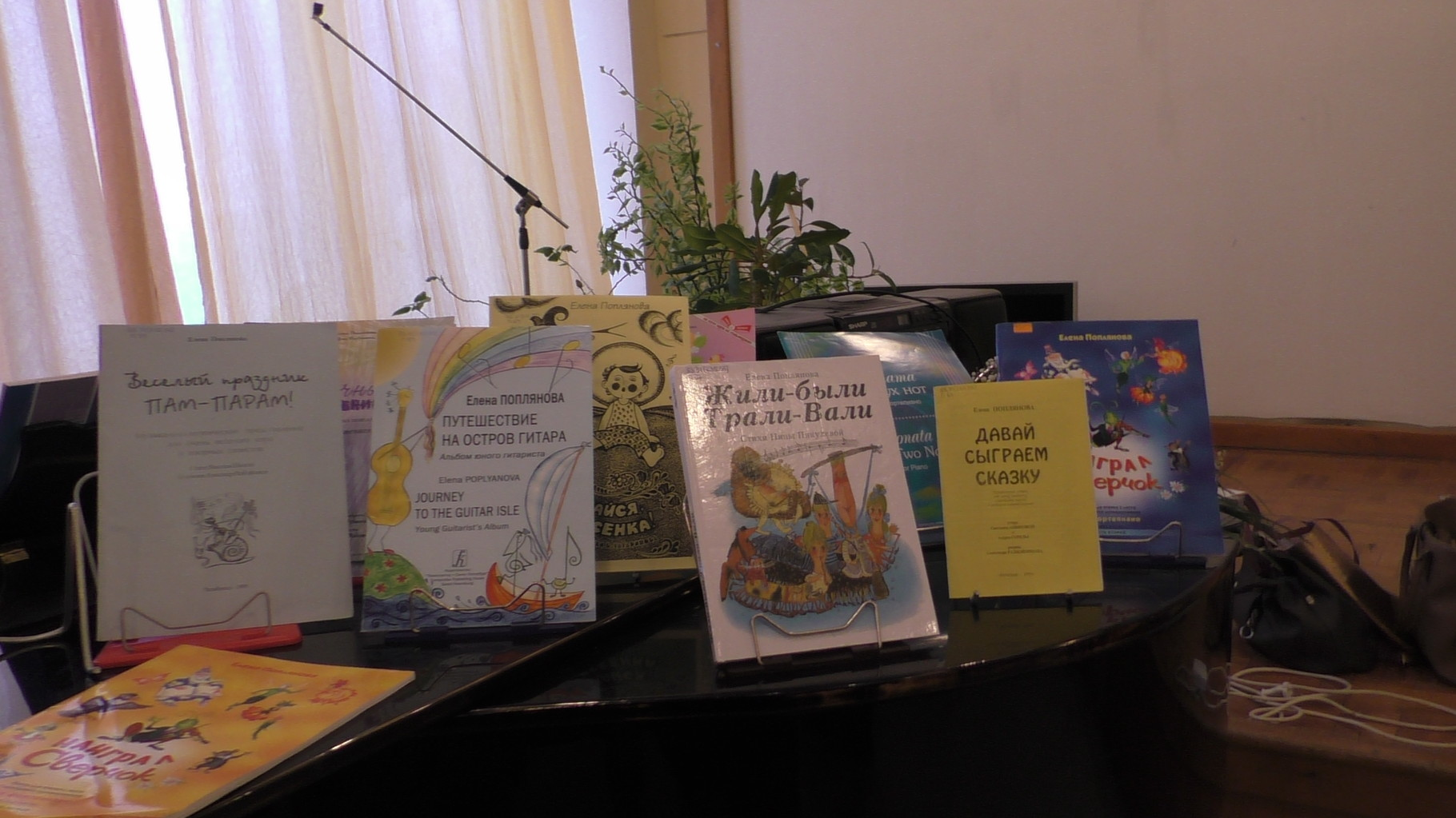 Авторские сборники Е. Попляновой