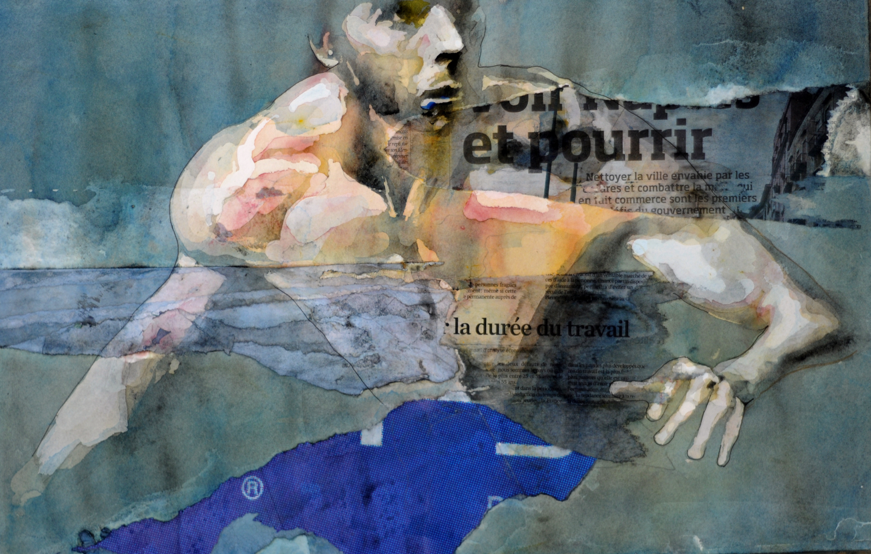 Bruce Clarke en collection chez Galerie Maxanart Valbonne