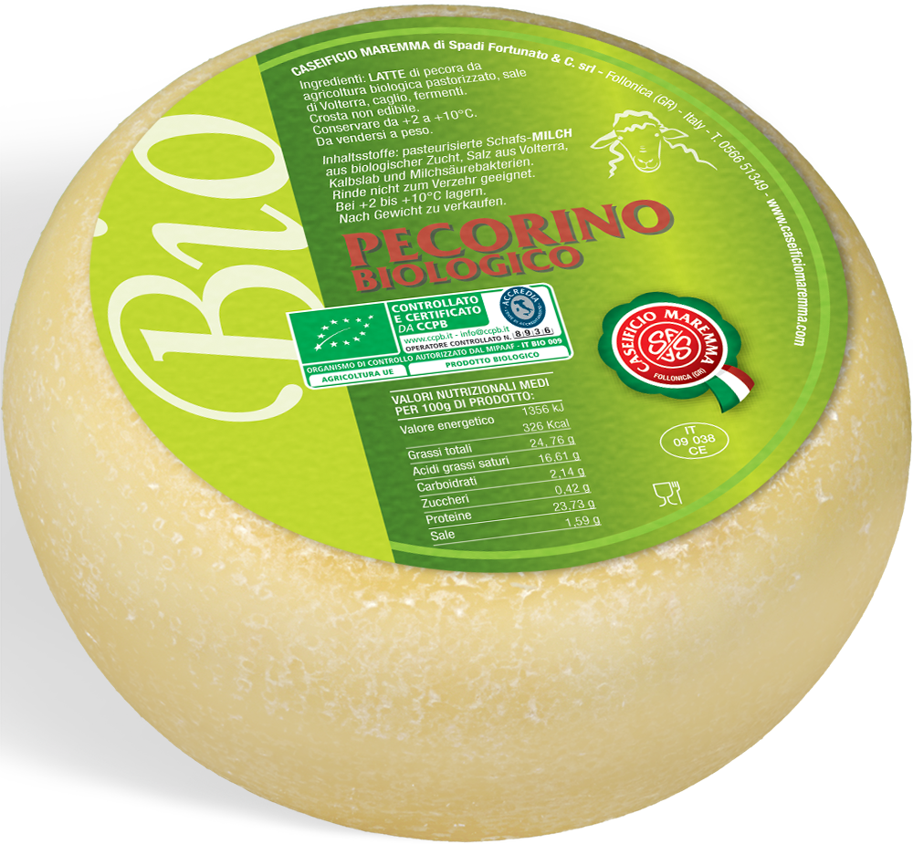 Pecorino biologico
