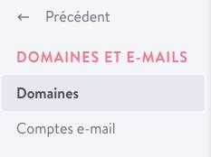 Compte e-mail et alias avec un site Jimdo